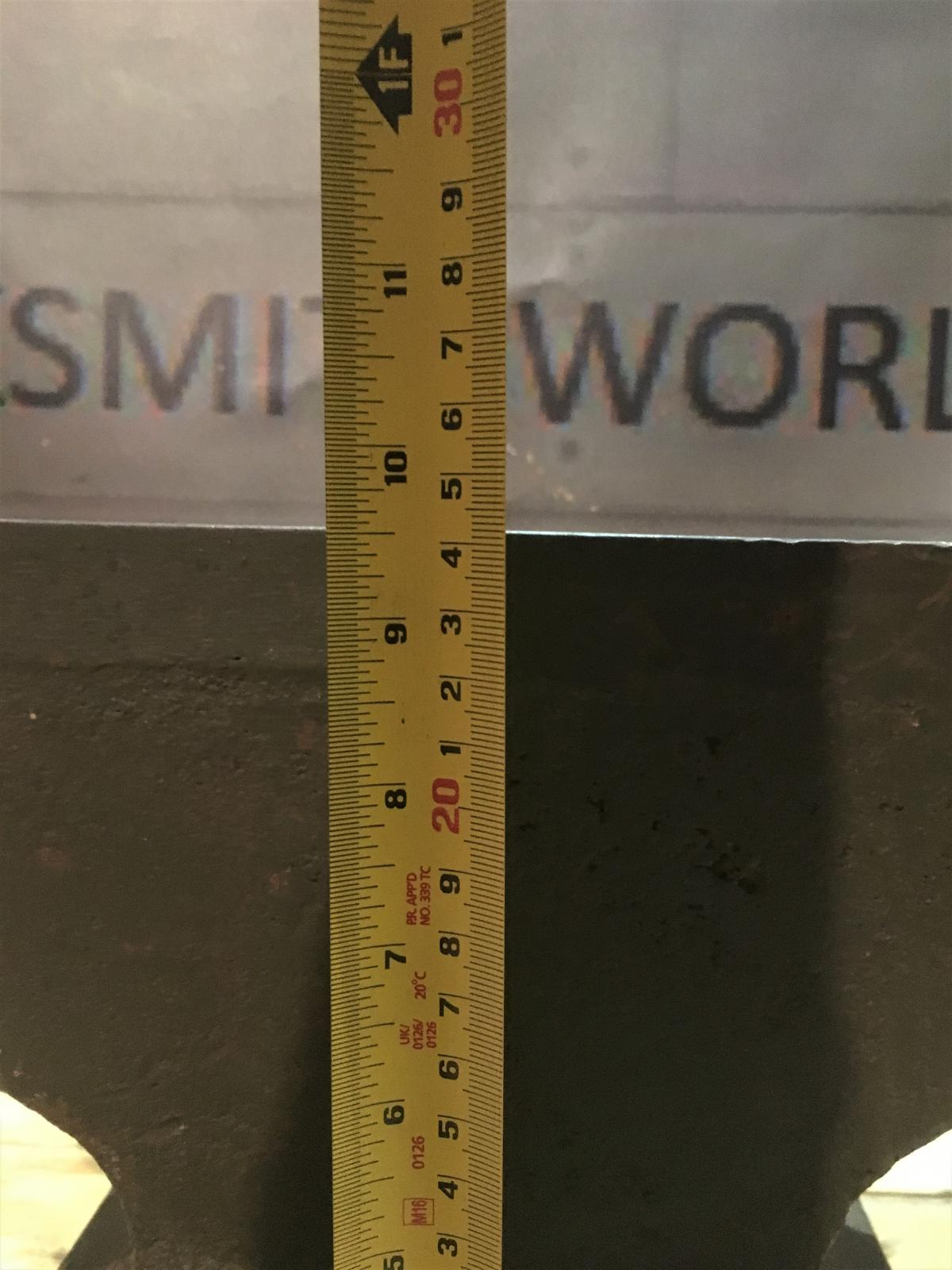SOUTHERN CRESCENT anvil 100 lbs | Blacksmithworld